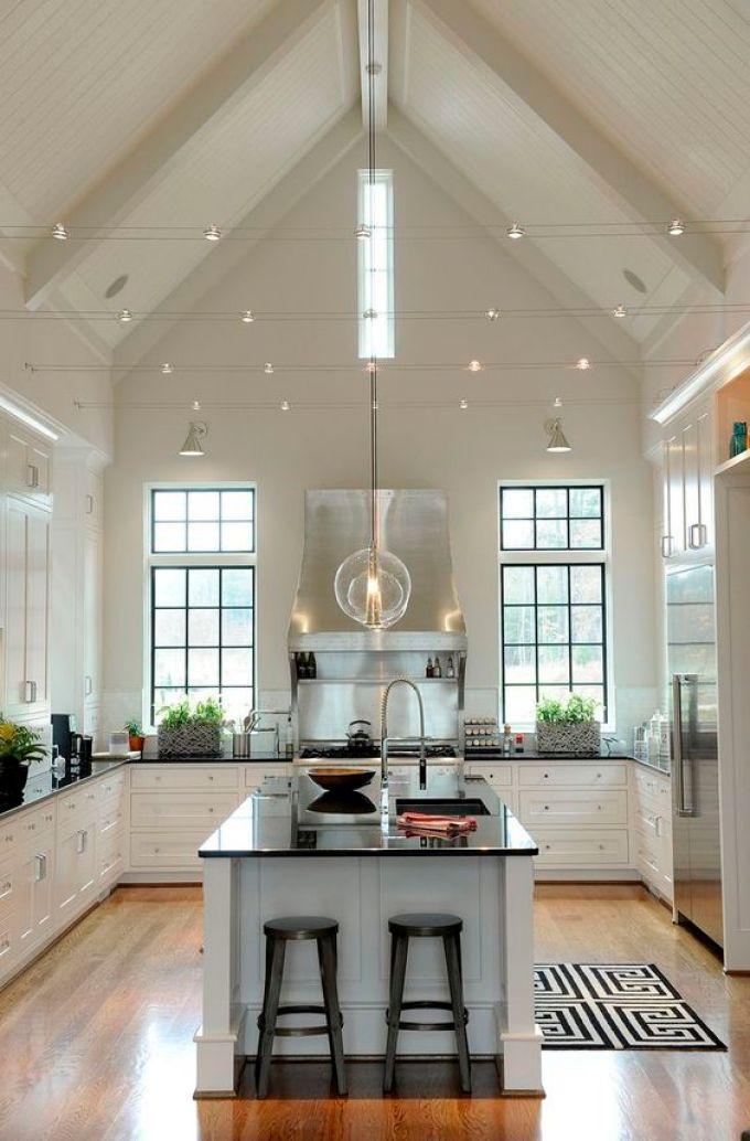 Kitchen Lighting Ideas - Track - harpmagazine.com