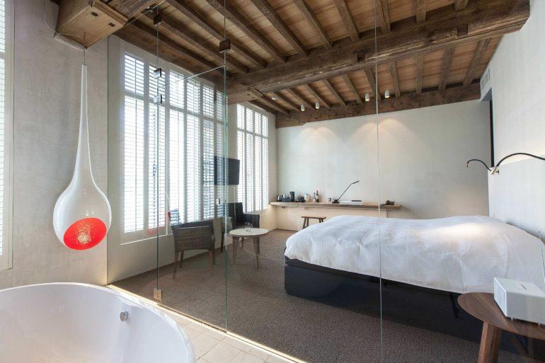 Low Basement Ceiling Ideas - Opt out of window treatments - harpmagazine.com