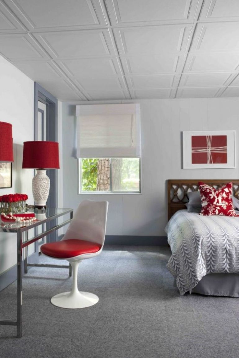Low Basement Ceiling Ideas - Ways to Make a Ceiling Look Higher - harpmagazine.com