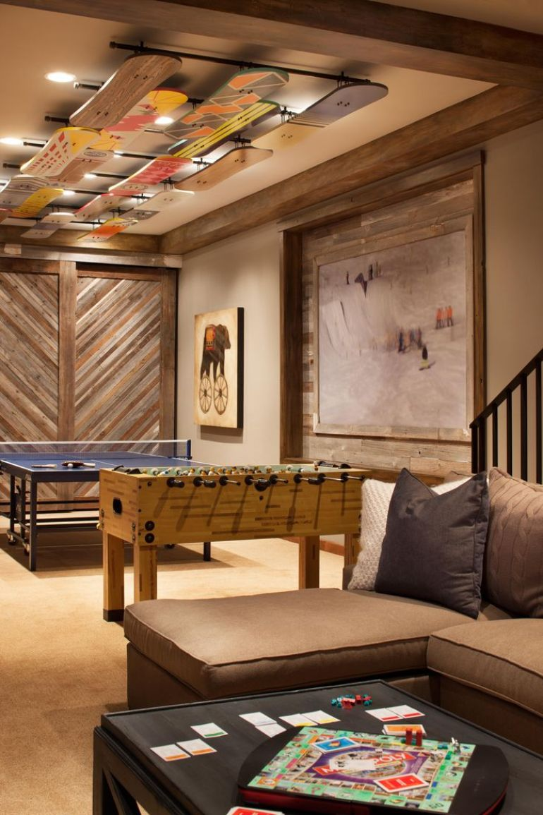 Basement Ceiling Ideas - Skateboards for Basement Ceiling - harpmagazine.com