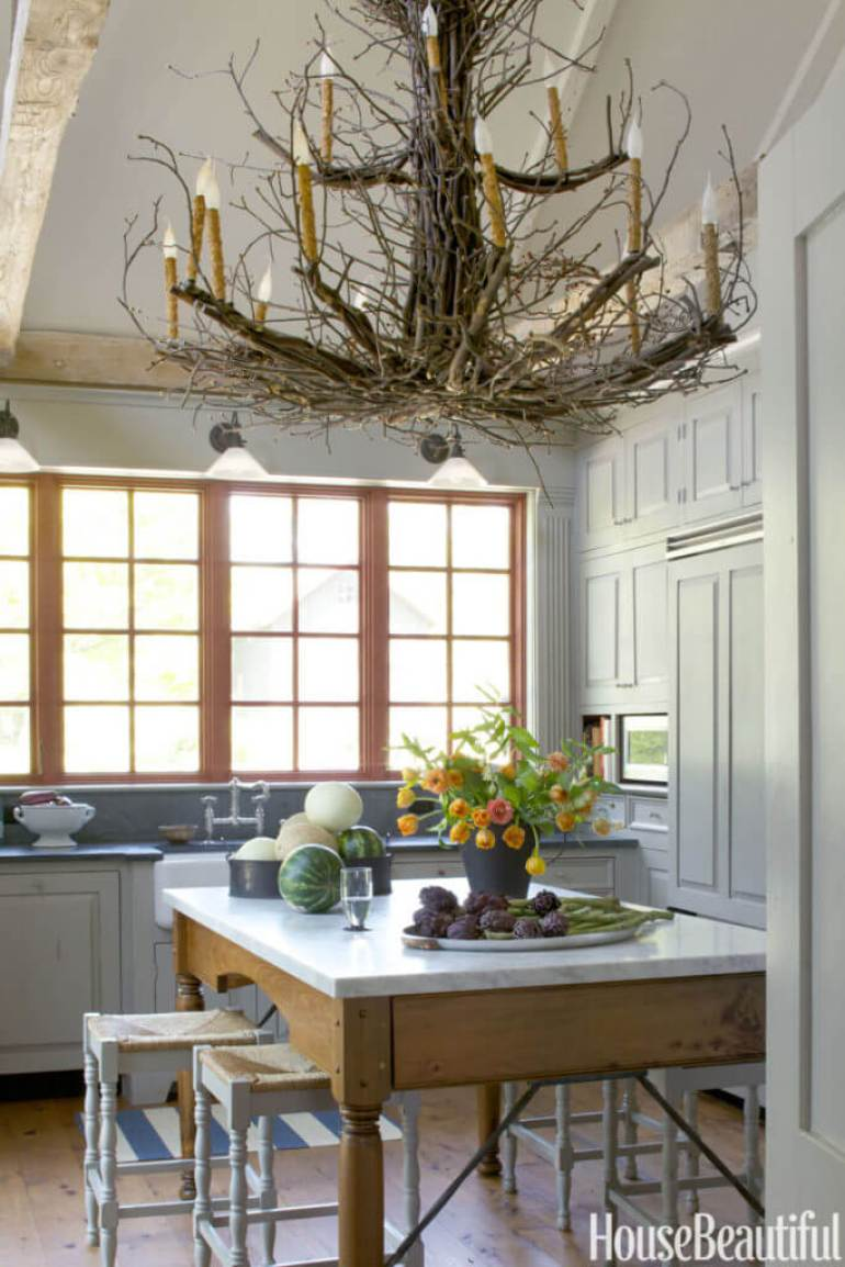 Kitchen Lighting Ideas - Edison Bulb Chandelier A - harpmagazine.com