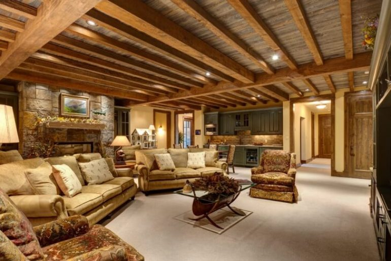 Wood Basement Ceiling Ideas - harpmagazine.com
