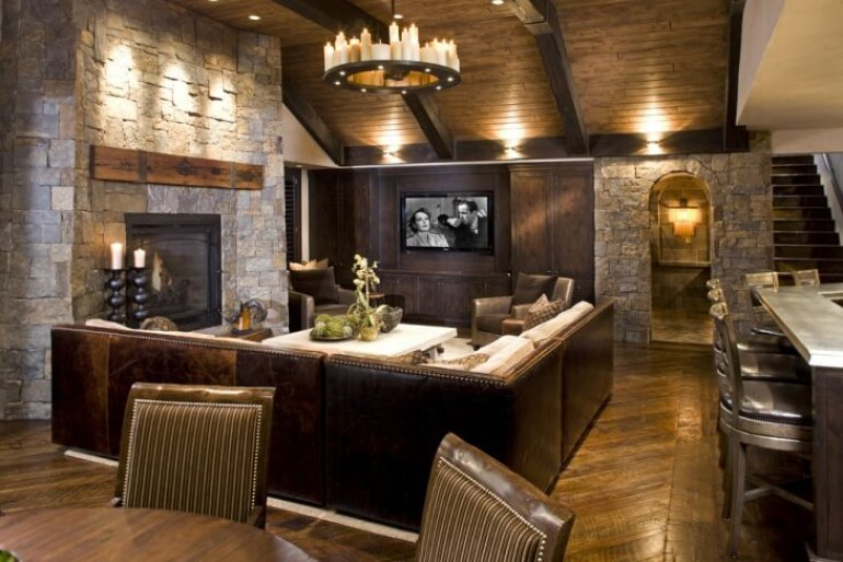 Vaulted Basement Ceiling Ideas - harpmagazine.com