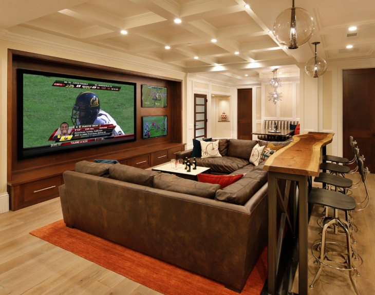 28. Basement White Ceiling Ideas
