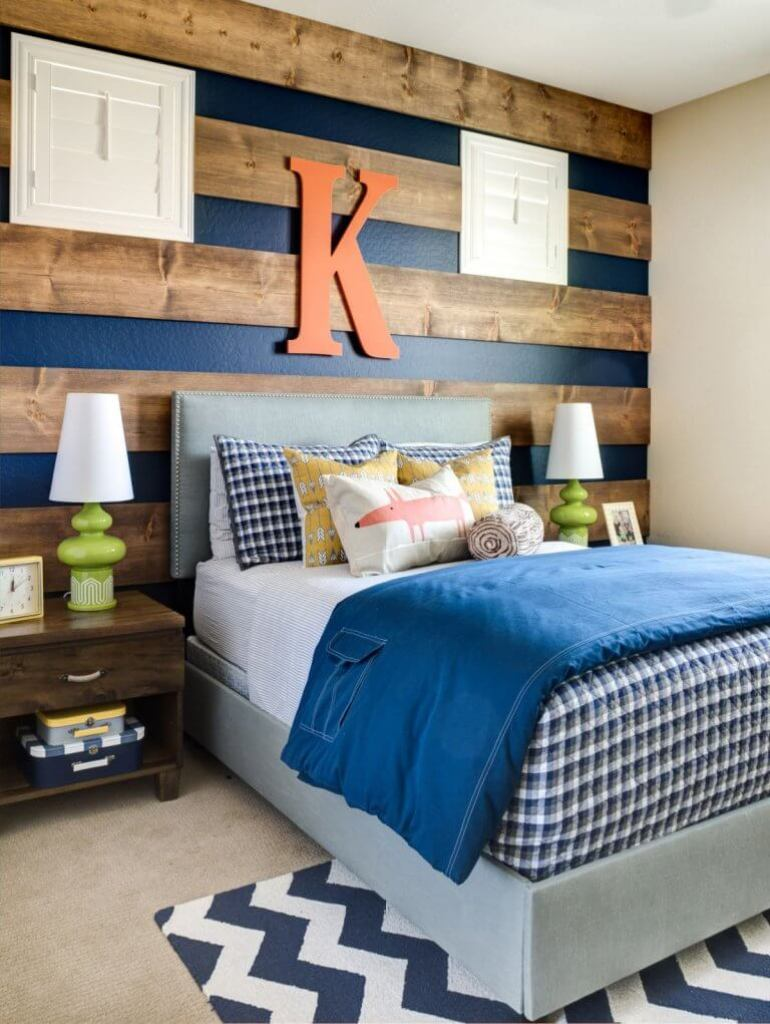 Accent Wall Ideas - With Stripped Wood - harpmagazine.com