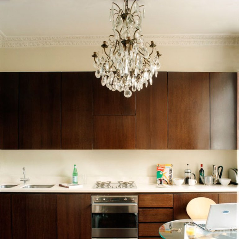 Kitchen Lighting Ideas - Add A Statement Chandelier - harpmagazine.com