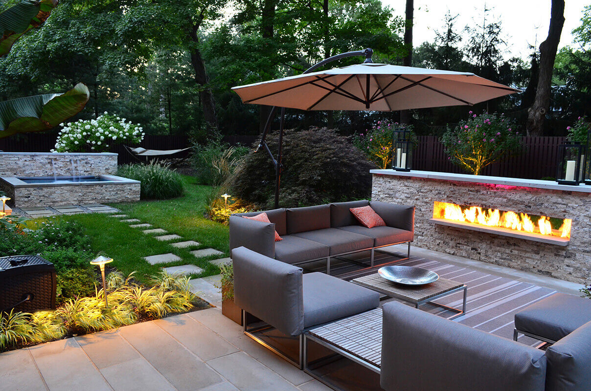63. Outdoor Living Room