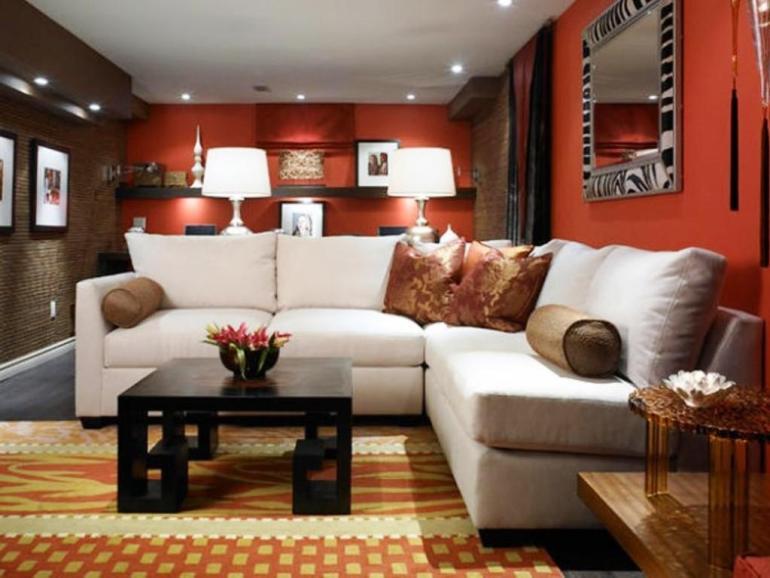 Low Basement Ceiling Ideas - Use a matte finish on the ceiling - harpmagazine.com