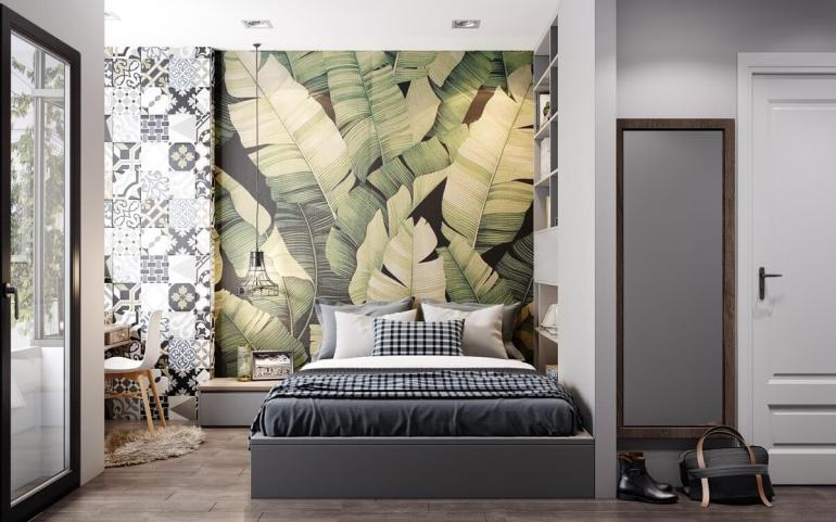 Accent Wall Ideas - Wallpapered A - harpmagazine.com