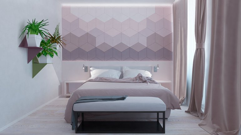 Accent Wall Ideas - Astonishing With Geometric Designs B - harpmagazine.com