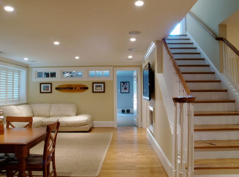 Low Basement Ideas - Decorating Tips To Make Basement Ceiling Look Higher- harpmagazine.com
