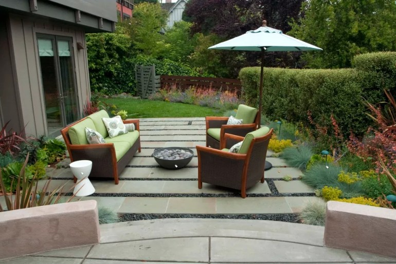 Paver Patio Ideas Bluestone Bands - harpmagazine.com