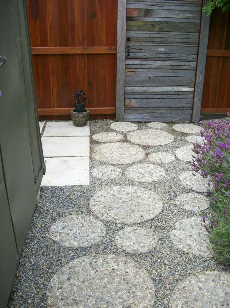 Paver Patio Ideas - Aggregate Pavers - harpmagazine.com
