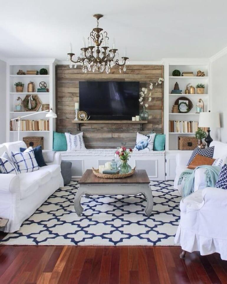Rustic Chic Living Rooms Ideas - Bright Chic Living Room Design - harpmagazine.com