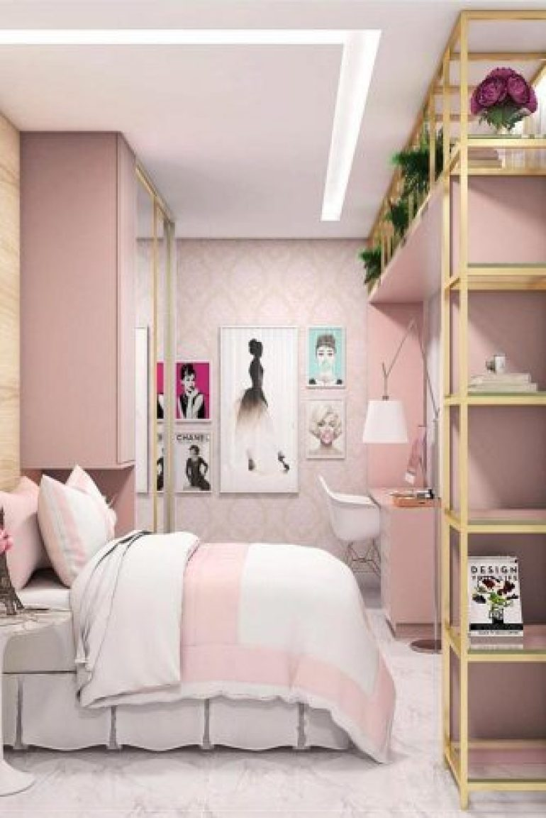 Teenage Girl's Bedroom Ideas - Easy And Clever Teen Bedroom Idea - harpmagazine.com