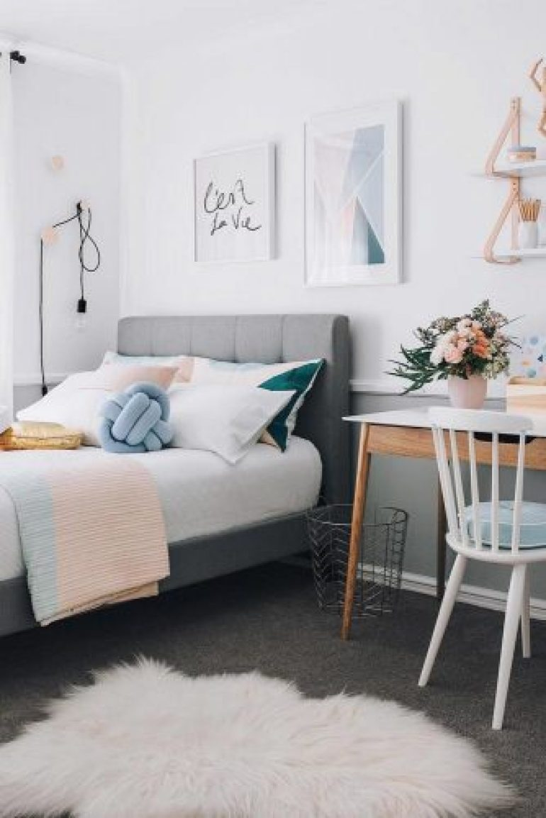 Teenage Girl Bedroom Ideas - Stylish Teen Girl's Bedroom Idea - harpmagazine.com