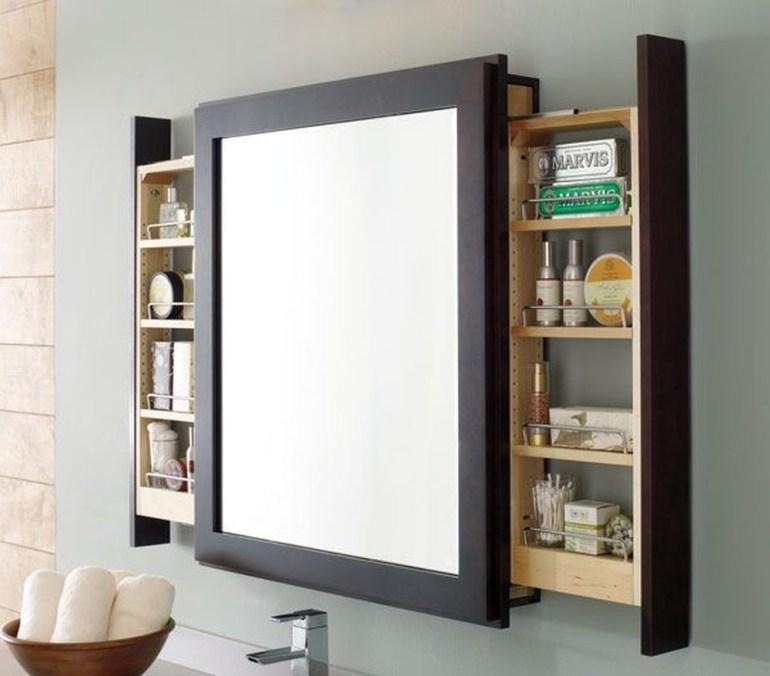 Bathroom Storage Ideas - Mirrors in Disguise - harpmagazine.com