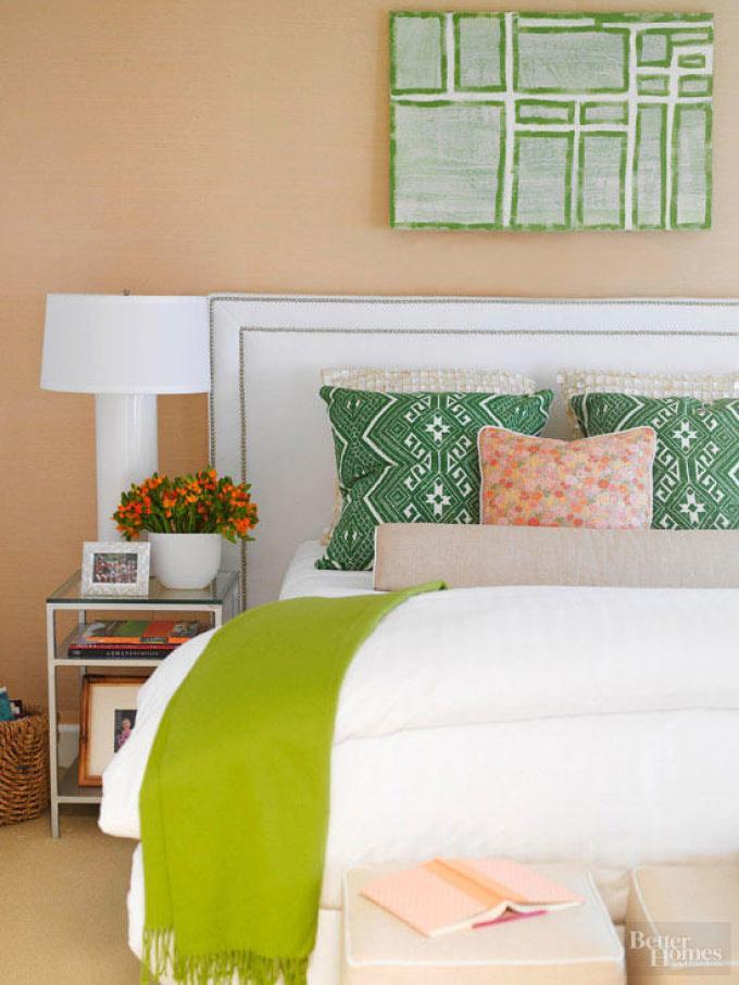 Small Master Bedroom Decor Ideas - Stylish Sanctuary - Harpmagazine.com