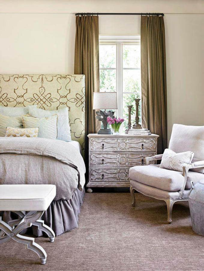 Master Bedroom Decor Ideas - Matching Motifs - Harpmagazine.com