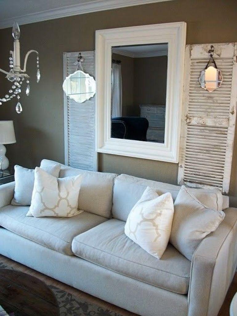 Rustic Chic Living Rooms Ideas - Soft Shutter Driftwood - harpmagazine.com