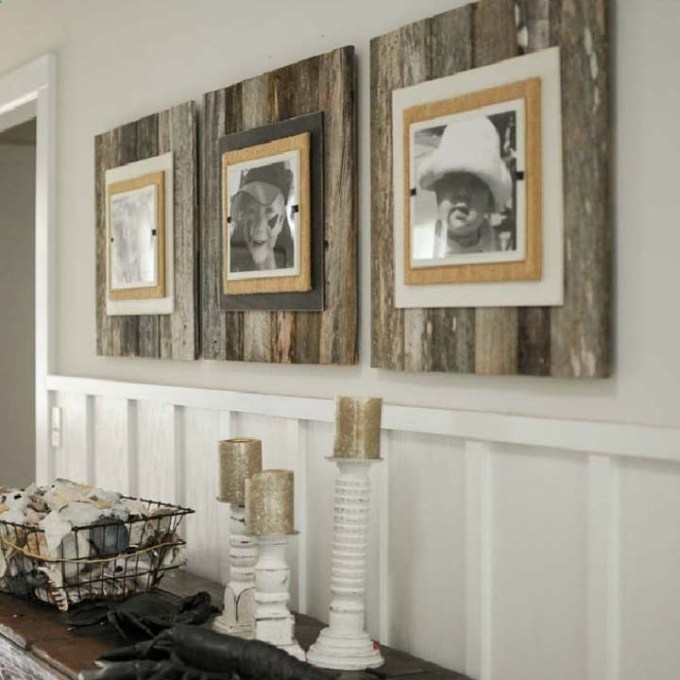 Rustic Chic Living Rooms Ideas - Driftwood Memories by the Seaside - harpmagazine.com