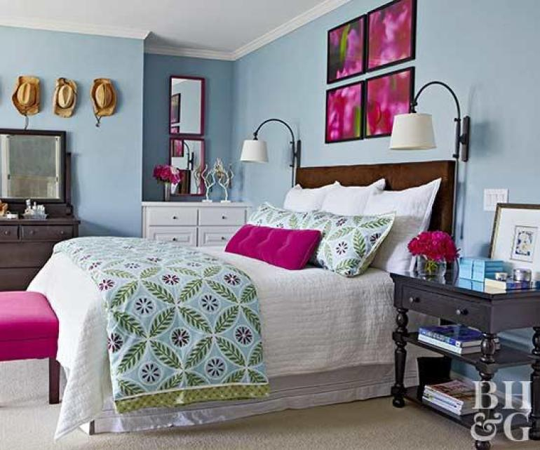 Master Bedroom Decor Ideas - Vibrant and Fun - Harpmagazine.com