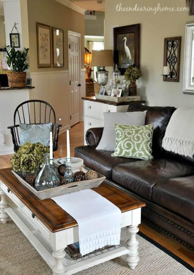 Rustic Chic Living Rooms Ideas - Forestry Elegance - harpmagazine.com