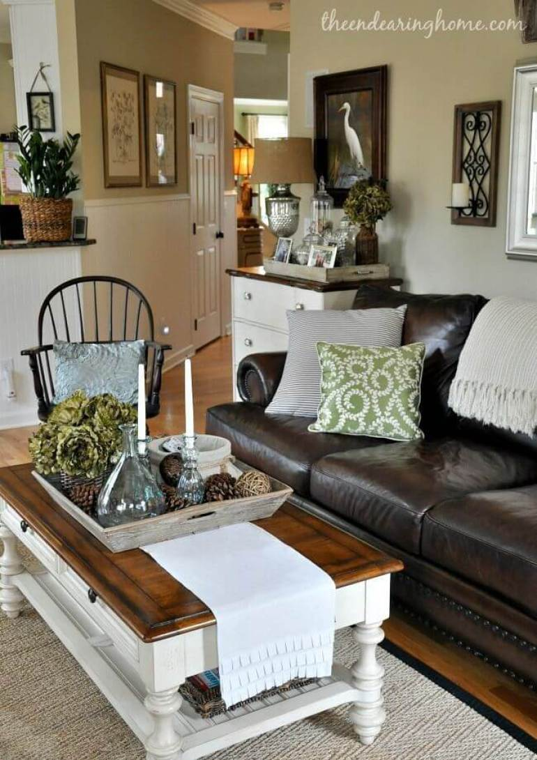 Rustic Chic Living Rooms Ideas - Forestry Elegance - harpmagazine.com