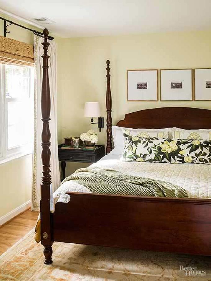 Small Master Bedroom Decor Ideas - Traditional Nature - Harpmagazine.com
