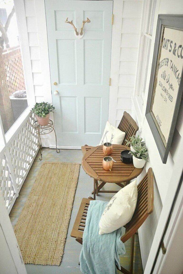Farmhouse Porch Decorating Ideas - Newport Palace Rustic Porch Decor - Harpmagazine.com