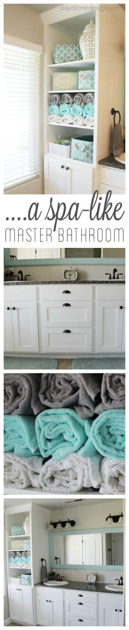 Bathroom Storage Ideas -The Spa Treatment - harpmagazine.com