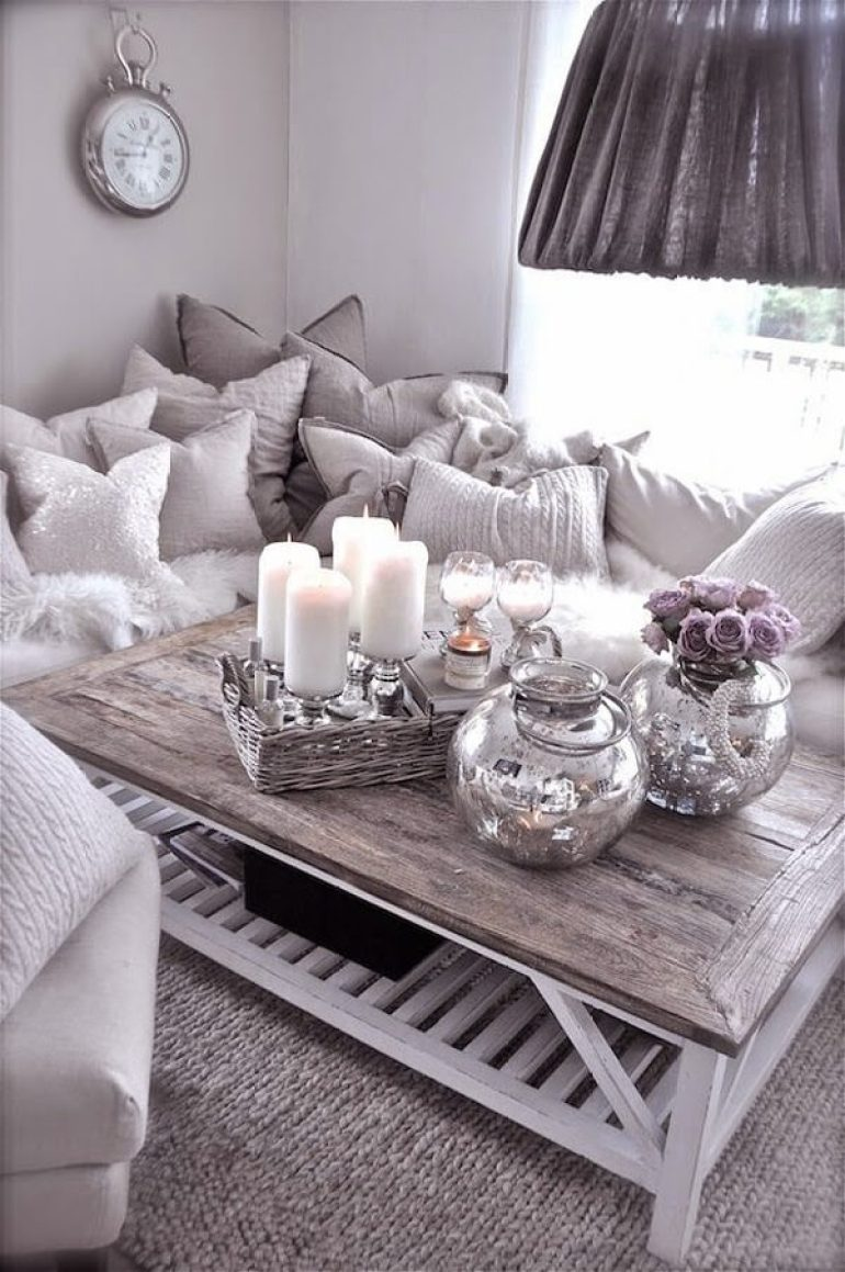 Rustic Chic Living Rooms Ideas - A Fluffy Angel's Rusty Paradise - harpmagazine.com