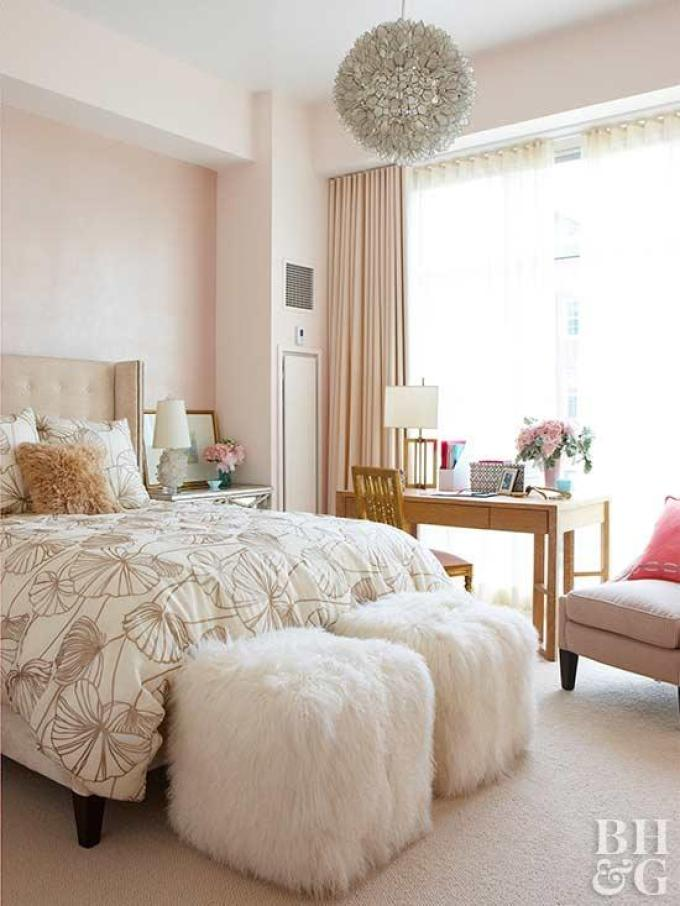 Top 10 Master Bedroom Decor Ideas - Pretty in Pink - Harpmagazine.com