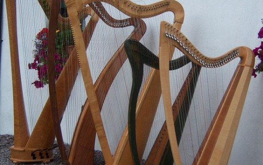 Reidun's Harp Centre: A note to harp students about band projects