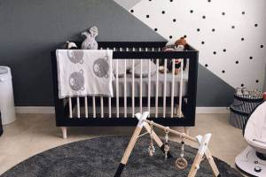 Baby Room Ideas Baby Boy Room with Monochromatic Patterns