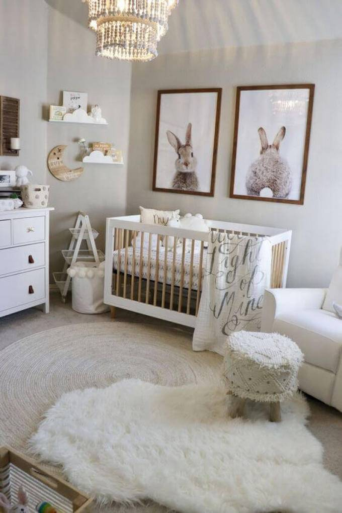 √ 27 Cute Baby Room Ideas: Nursery Decor for Boy, Girl and ...
