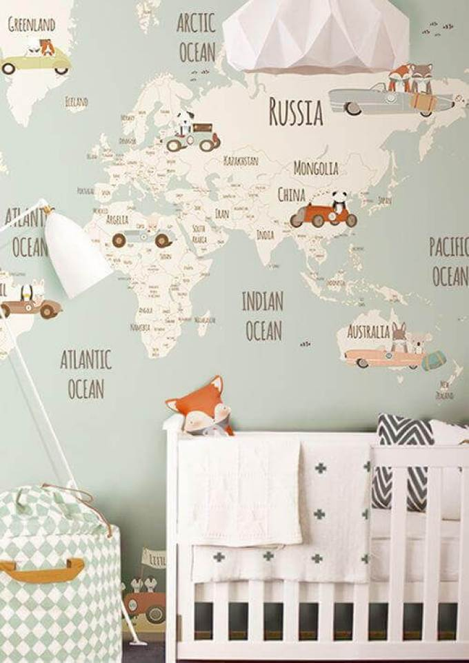 Baby Room Ideas Travel Themes for Baby Room Ideas - Harppost.com