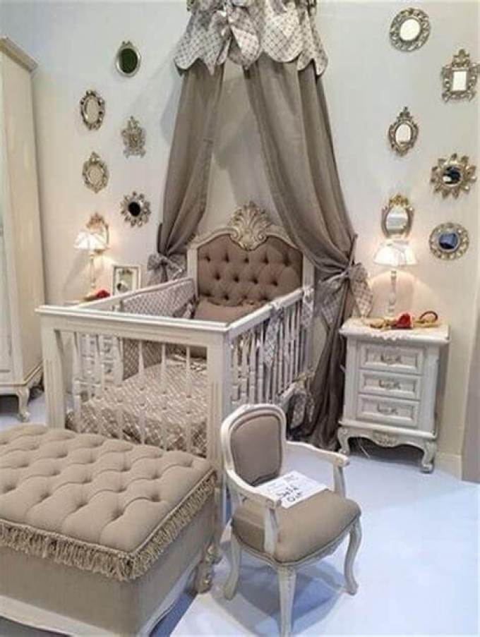 Baby Boy Room Mural Ideas: 27 Cute Baby Room Ideas: Nursery Decor For Boy, Girl And