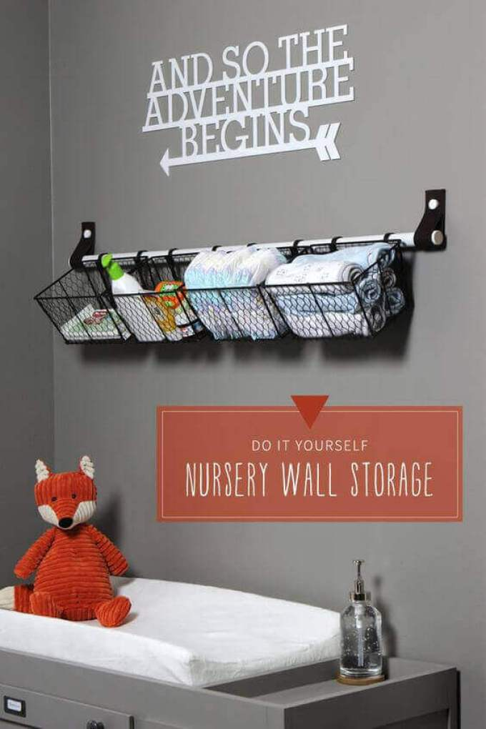 Baby Room Ideas Wall Storage Ideas for Baby Room - Harppost.com