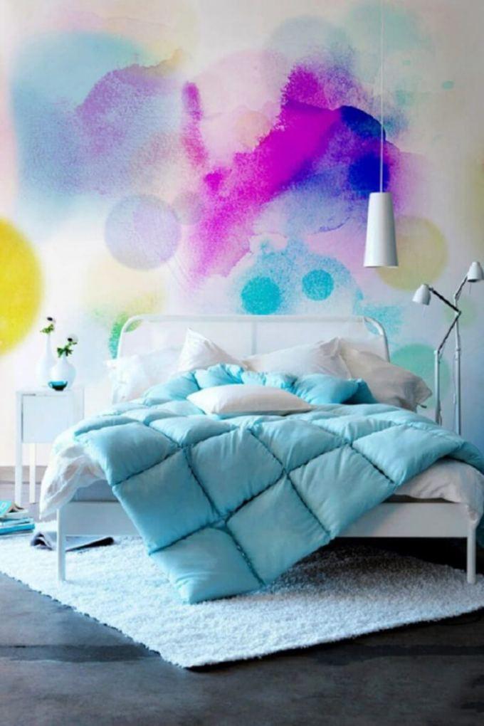 Bedroom Paint Colors Rainbow in a Bedroom - Harppost.com