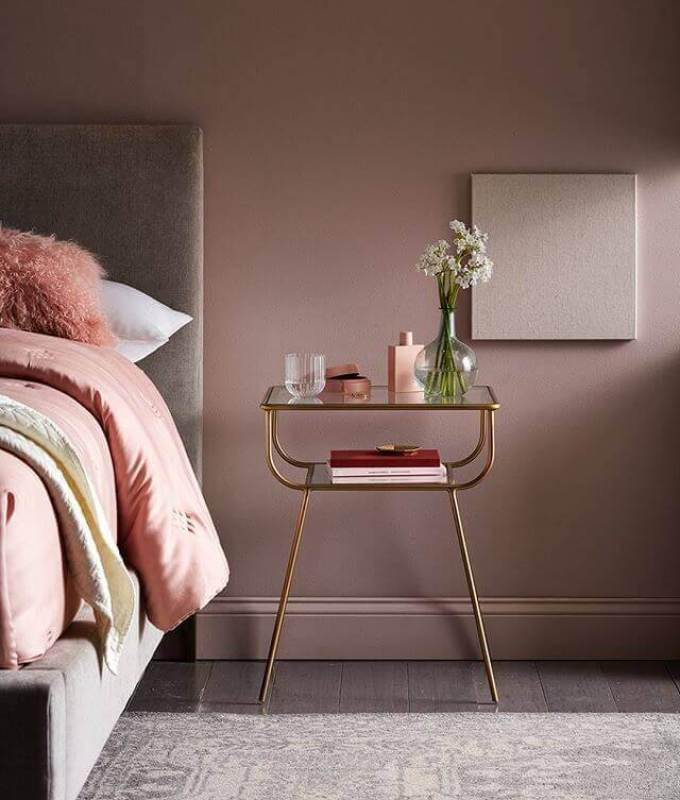 Bedroom Paint Colors The Incredible of Thulian Pink - Harppost.com