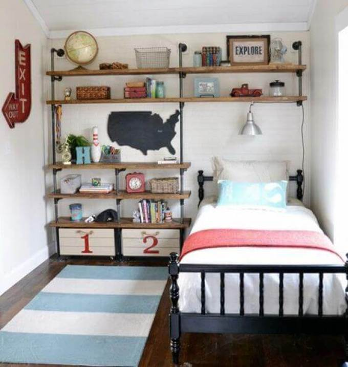 Boys Bedroom Ideas Bring The Industrial Age Back - Harppost.com
