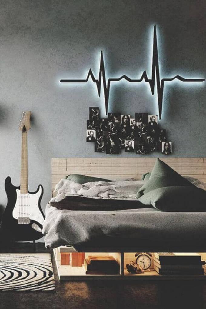 Boys Bedroom Ideas Music Theme - Harppost.com