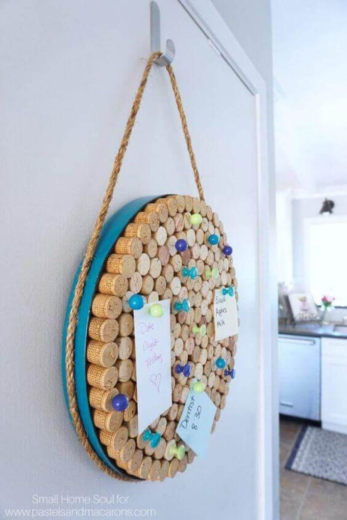 Cork Board Ideas Epic Round Cork Board - Harppost.com
