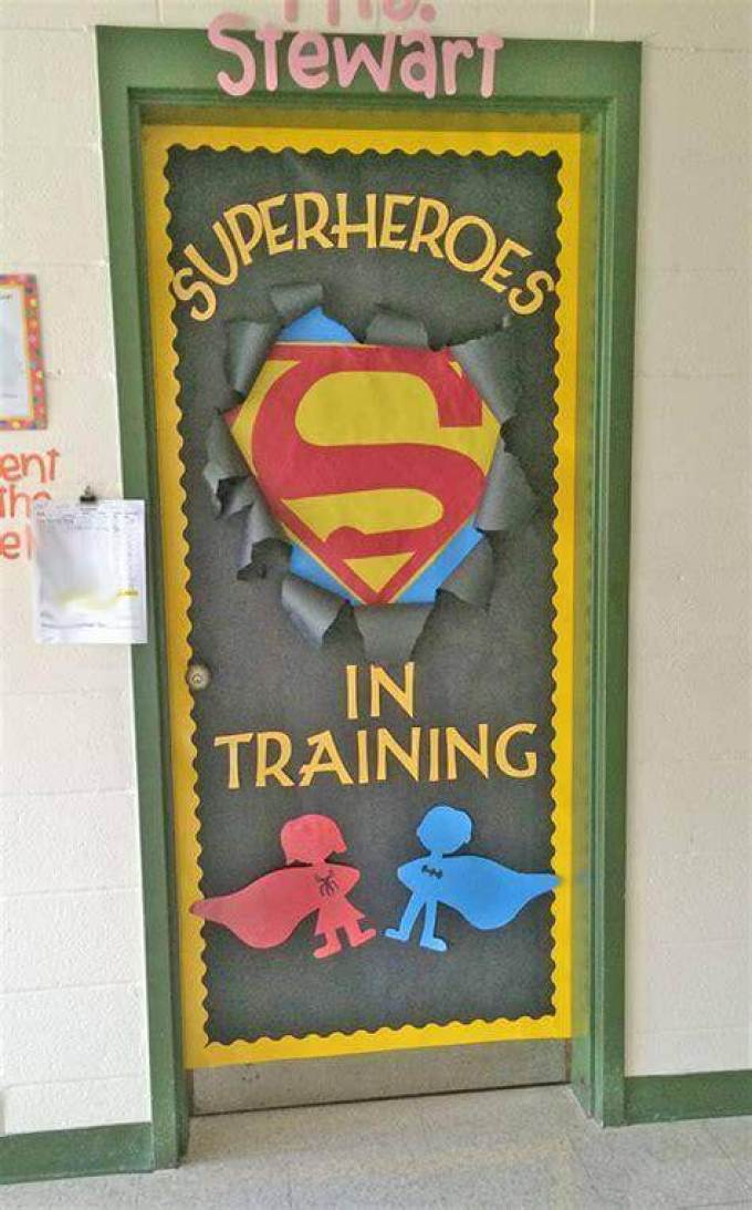 Cork Board Ideas Superhero Goals - Harppost.com