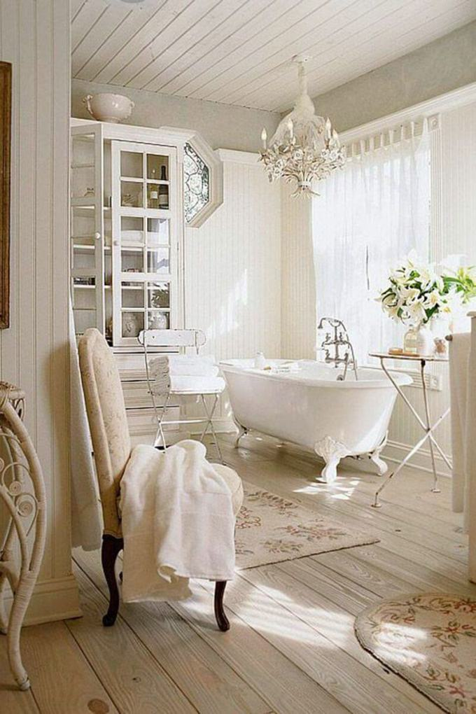 French Country Decor Indulge Yourself in An Elegant Bathroom - Harppost.com