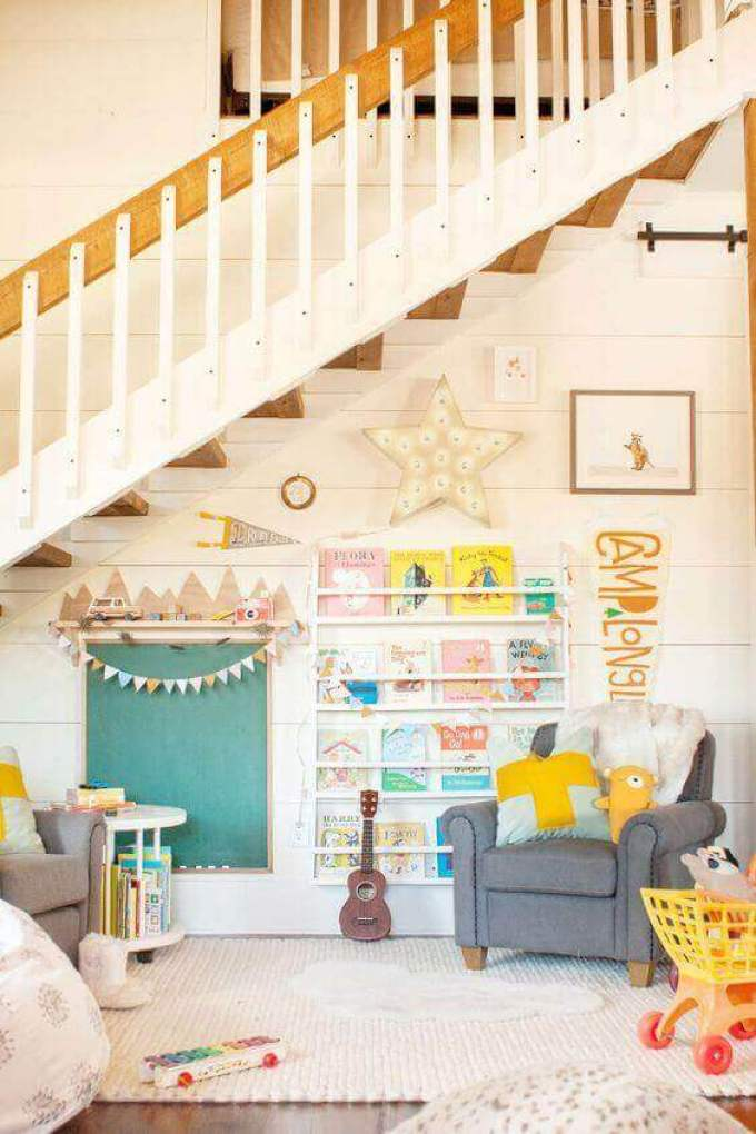 Kids Bedroom Ideas Funky Reading Nook - Harppost.com