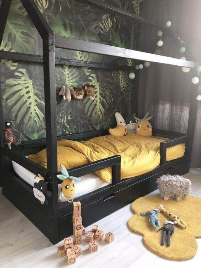 Kids Bedroom Ideas Jungle House - Harppost.com