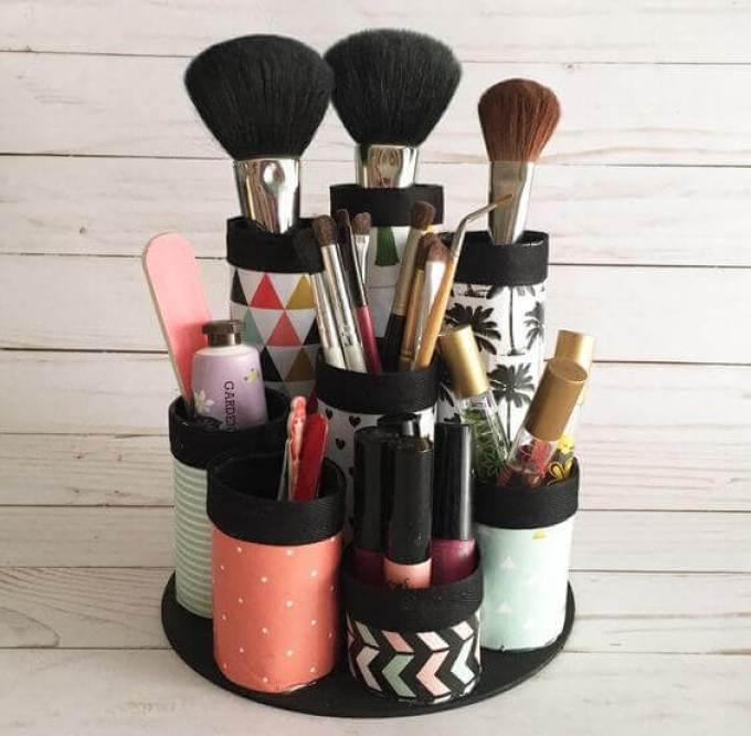 Makeup Room Ideas DIY Makeup Kit Storage - Harppost.com