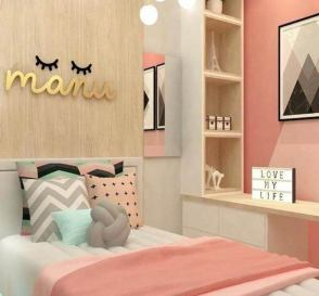 Pretty in Pink Concept for Teenage Girls Bedroom Ideas